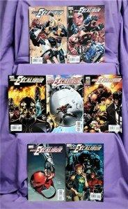 Chris Claremont Captain Britain NEW EXCALIBUR #18 - 24 Scot Eaton (Marvel, 2007)