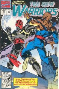 New Warriors (1990 series) #18, NM- (Stock photo)