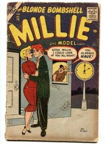 Millie The Model  #75 1957-Atlas-Dan DeCarlo-Chili-paper dolls-fashion-Nellie