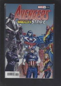 Avengers Mech Strike #1 Variant