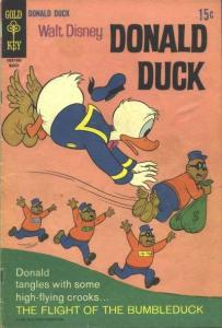 Donald Duck (1940 series) #124, VG- (Stock photo)