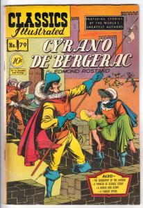 Classics Illustrated #79 (Jan-51) FN+ Mid-High-Grade Cyrno De Bergerac