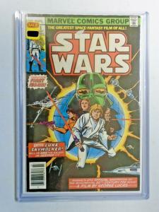 Star Wars #1 Newsstand 4.0 VG (1977)