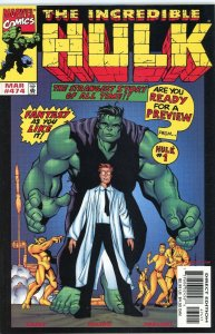 INCREDIBLE HULK #474 Final Issue Marvel Comics 1999 NM Pressed Beauty