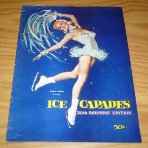 John H. Harris Presents Ice Capades 20th Birthday Edition - ice skating 1959