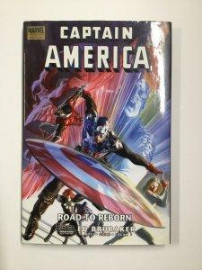 Captain America: Road To Reborn Tpb Hardcover Near Mint Marvel