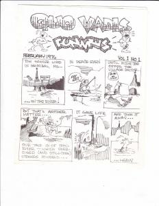 Quo Vadis Funnies #1 FN- (1st) print - kevin east - very rare underground comix