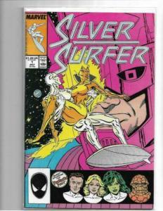 SILVER SURFER - VOL. 3 #1 - VF/NM - ORIGIN RETOLD - GALACTUS - COPPER AGE KEY