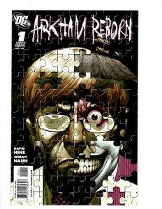 4 DC Comics Arkham Reborn # 1 2 3 + Battle Cowl Asylum # 1 NM 1st Print HR8