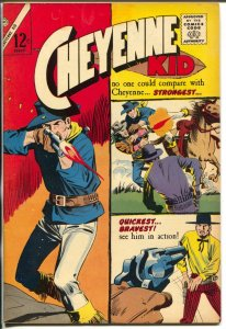Cheyenne Kid #51 1965-Charlton-gun fight cover-12¢ cover price-VF