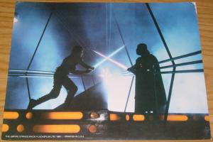 Star Wars: the Empire Strikes Back full color movie stills set of (8) 11x14