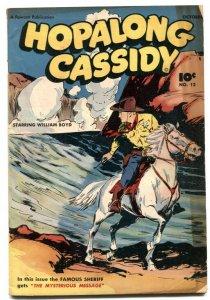 Hopalong Cassidy #12 1947- Fawcett Western VG