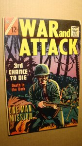 WAR AND ATTACK 1 *SOLID COPY* ONE MAN MISSION WALLY WOOD ART G.I. COMBAT 1964