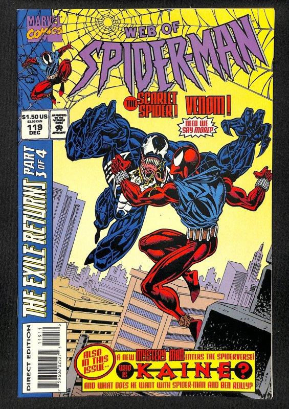 Web of Spider-Man #119 (1994)