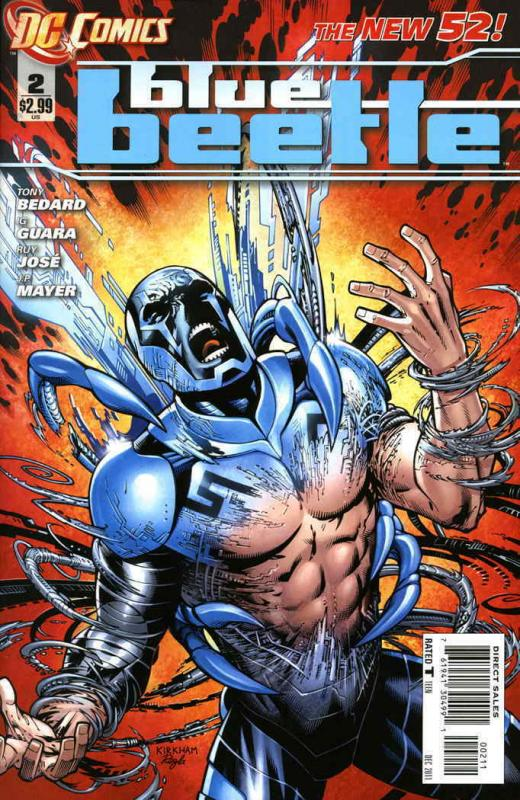 Blue Beetle (5th Series) #2 VF/NM; DC   save on shipping - details inside