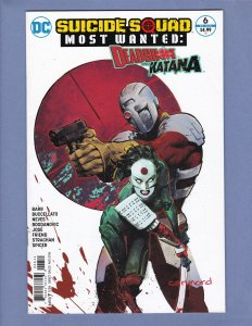 Suicide Squad Most Wanted Deadshot & Katana #6 FN Harley Quinn DC 2016