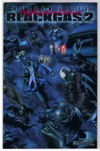 BLACK GAS 2 #1, NM, Wrap, Warren Ellis, Zombies, Undead, 2006, Horror