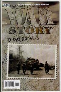 WAR STORY 'S ( x4 diff), NM+, Garth Ennis, Tanks, D-Day, WWII, Army, Battle