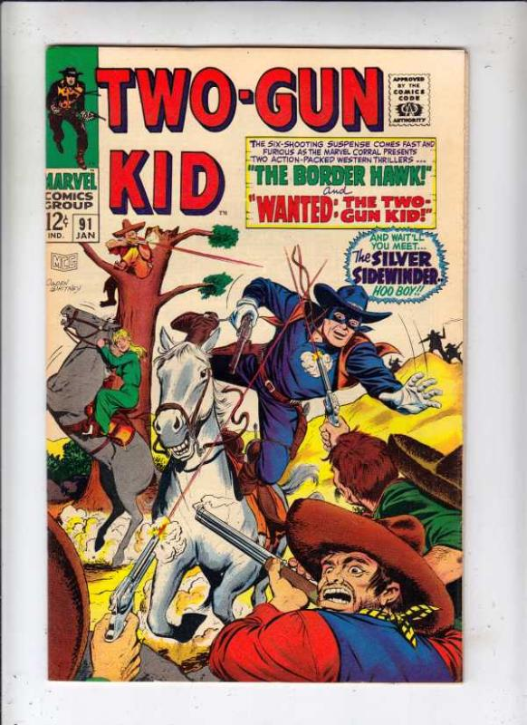 Two-Gun Kid #91 (Jan-68) VF High-Grade Two-Gun Kid