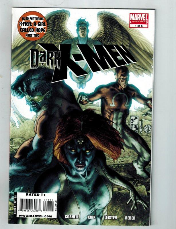 Dark X-Men # 1 Of 5 VF Marvel Limited Series Comic Book Wolverine Beast S75