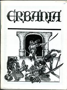 Erbania #38 1976 -Edgar Rice Burroughs-Tarzan-Jeff Easley-info-pix- FN/VF