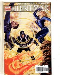 Silent War Complete Marvel Comics LTD Series # 1 1 2 3 4 5 6 Inhumans Bolt MF10