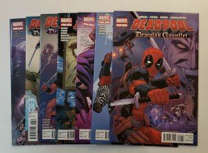 DEADPOOL DRACULA'S GAUNTLET #1-7 SET MARVEL COMICS 2014 NM