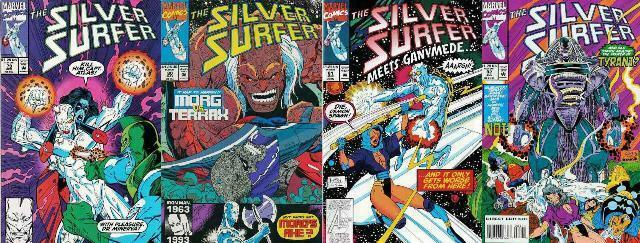 SILVER SURFER (1987) 79-82  vs TYRANT