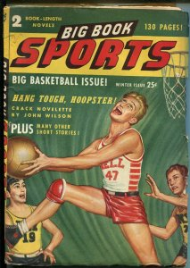 Big Book Sports-Winter1947-basketball -horse race-football-pulp fiction-VG/FN