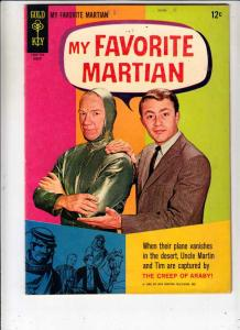 My Favorite Martian #5 (Aug-65) VF/NM- High-Grade Uncle Martin, Tim