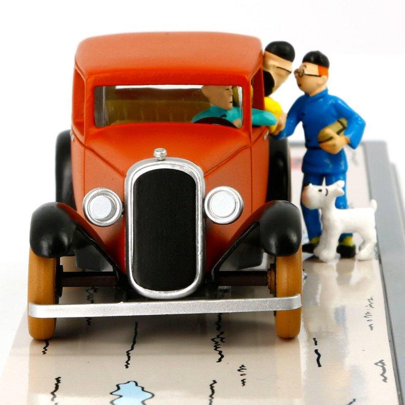 TINTIN: Transportes Tintin numero 1: coche de Wong Jen-Ghie de El Loto azul c...