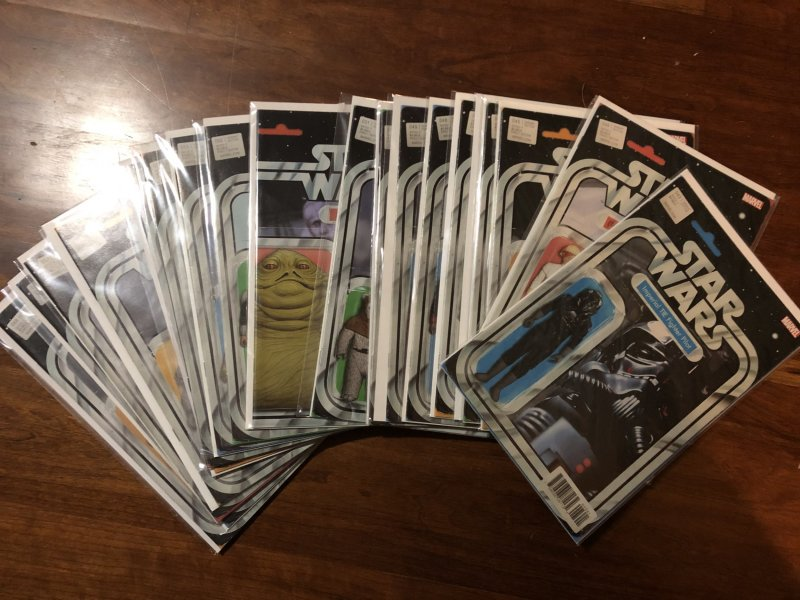 John Tyler Christopher Star Wars Action Figure Variants NM Lot NEAR COMPLETE 132