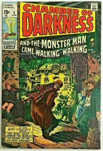 CHAMBER OF DARKNESS#4  FN 1970 MARVEL BRONZE AGE COMICS