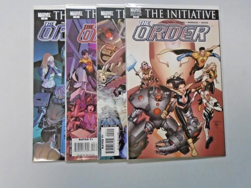 The Order (Marvel 2nd Series) Set:#1-4, 8.0/VF (2007)
