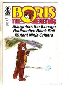 Lot Of 3 Dark Horse Comics Boris The Bear 1 + DH 20 Years + DHP Annual 20  J291