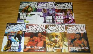 Criminal vol. 2 #1-7 VF/NM complete series - ed brubaker - sean phillips - icon