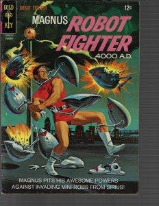 Magnus Robot Fighter #17 (Dell, 1967) F+