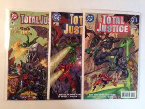 Total Justice 1-3 Complete Near Mint Lot Set Run