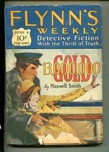FLYNN'S WEEKLY DETECTIVE FICTION-JUNE 4 1927-PULP-CRIME-MYSTERY-SMITHL-good