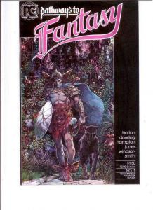 PATHWAYS TO FANTASY #1, VF/NM, Smith, Bolton, Pacific Comics 1984 more in store