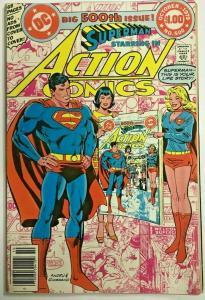 ACTION COMICS#500 FN/VF 1979 DC BRONZE AGE COMICS