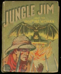 JUNGLE JIM AND VAMPIRE WOMAN-BIG LITTLE BK-ALEX RAYMOND VG-