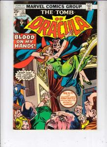Tomb of Dracula #33 (Jun-75) VF High-Grade Dracula
