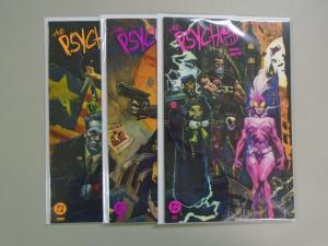 Psycho (1991 DC) #1-3, 8.0/VF (1991)
