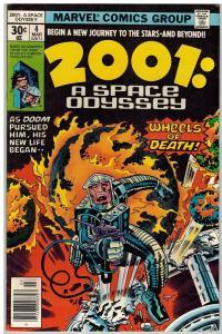 2001 A SPACE ODYSSEY (1976) 4 VF Mar. 1977