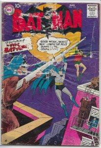 Batman   vol. 1   #114 FR/GD Robin, Bat-Ape, Moldoff, Sprang