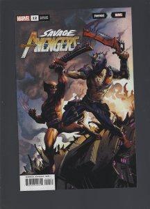 Savage Avengers #12 Variant (2020)