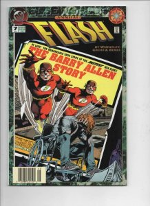 FLASH #7 Annual, VF/NM, Barry Allen, Elseworlds, 1987 1994, more DC in store