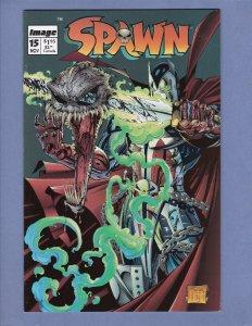 Spawn #15 VF/NM Violator Todd McFarlane Image Comics 1993