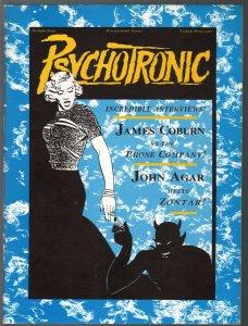 Pyschotronic Video #9-Spring 1991-sci-fi & exploitation films-James Coburn-VF